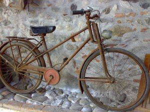 Rusted Vintage Bicycle